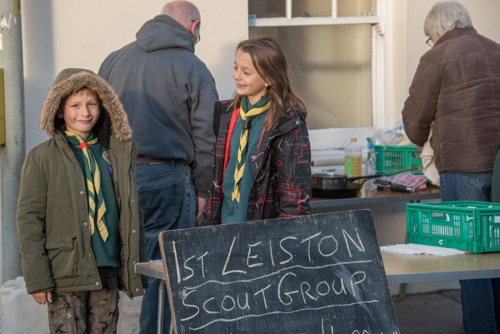 Scouts Christmas Market Leiston Suffolk
