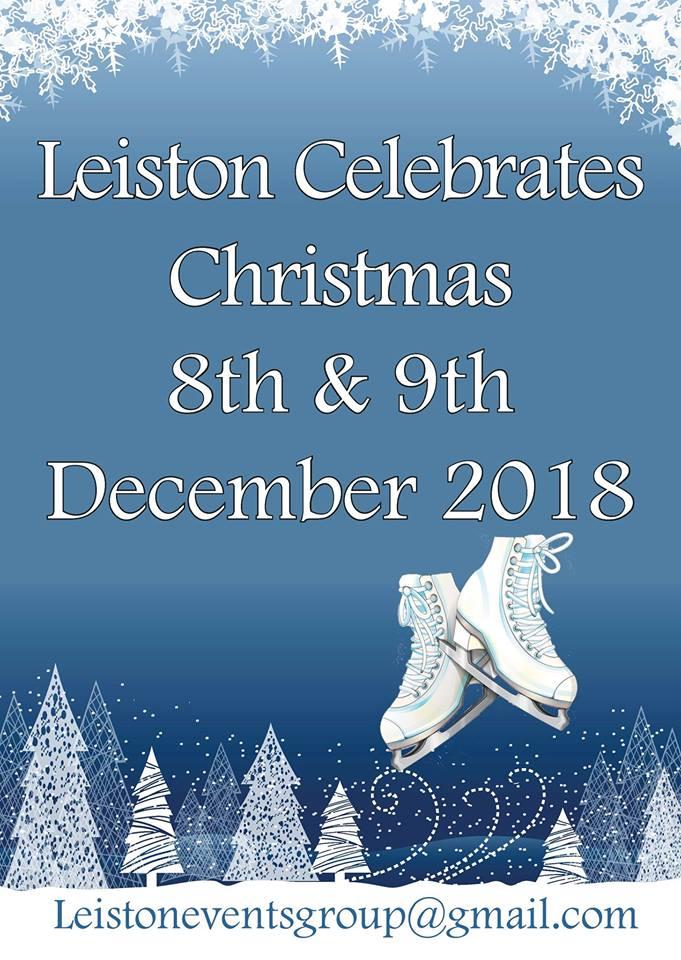 Leiston on Ice! Leiston's Christmas Event 2018